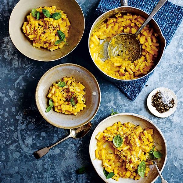 Butternut and sage macaroni