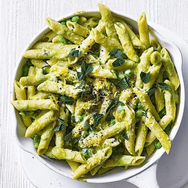Super green pasta