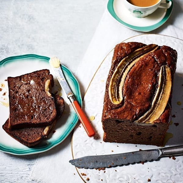 Date and ginger loaf cake