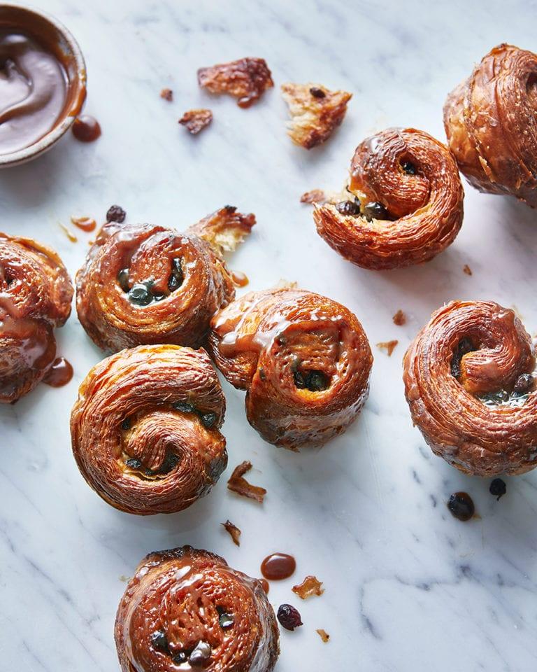 Flor's lardy buns