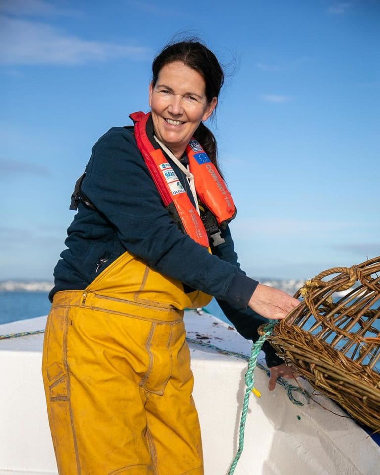 Food job diaries: a day in the life of a female 'fisherman'