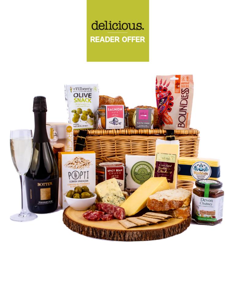 Reader Offer: Save £16 and get FREE delivery on Devon Hampers