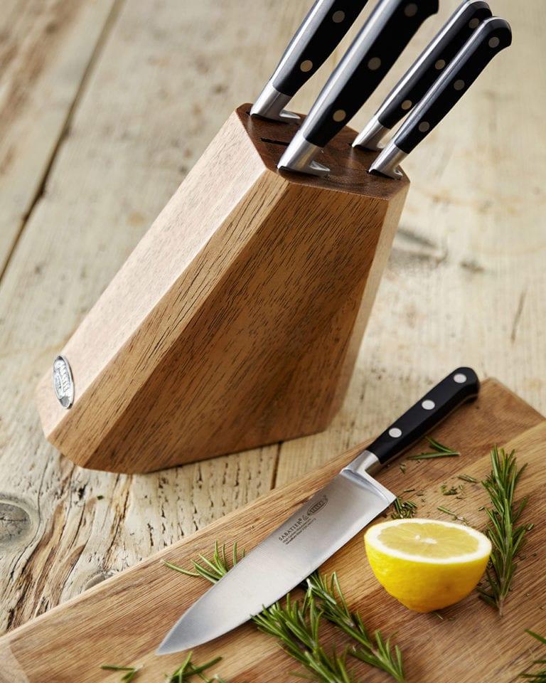 Win one of four Stellar 5-piece knife blocks worth £120 each!
