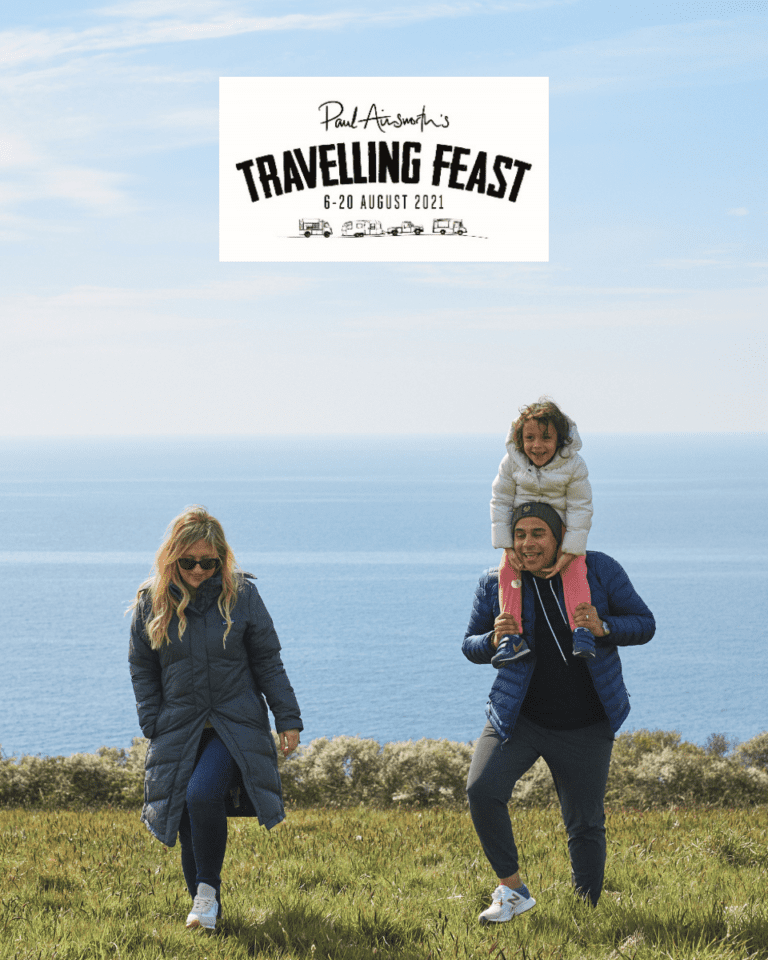 Get pre-sale access to Paul Ainsworth's Travelling Feast festival