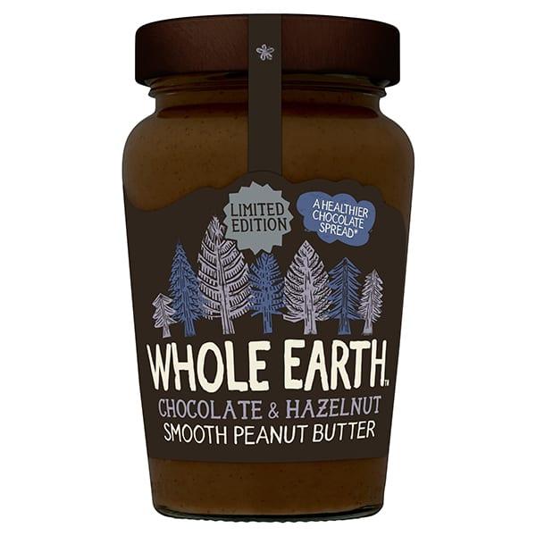 Whole earth chocolate peanut butter