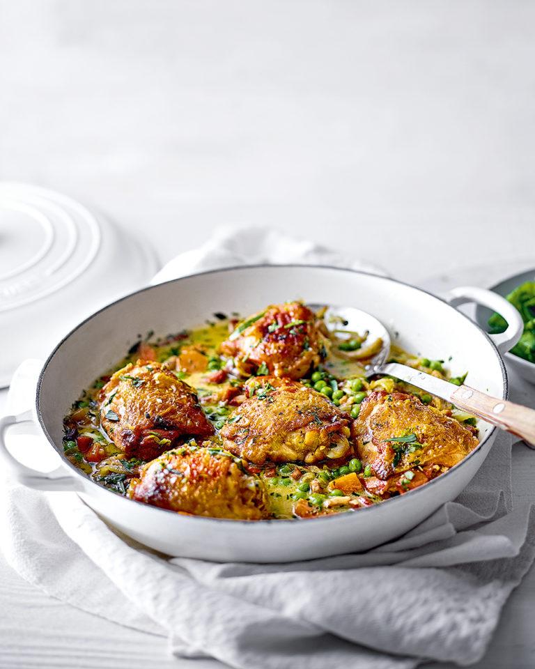 Easy tarragon chicken