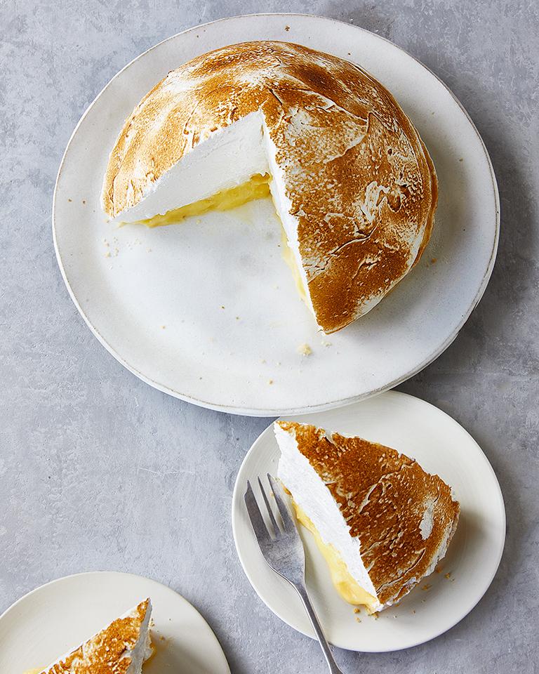 Gloria's lemon meringue pie