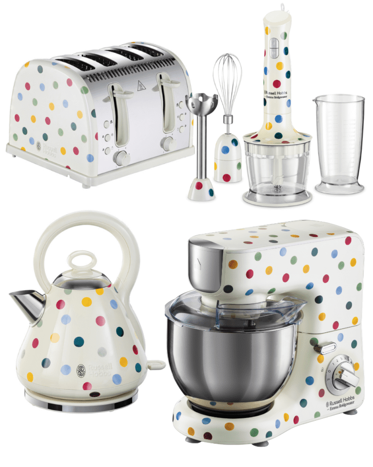 Cook it like delicious: WIN a Russell Hobbs x Emma Bridgewater bundle worth £525