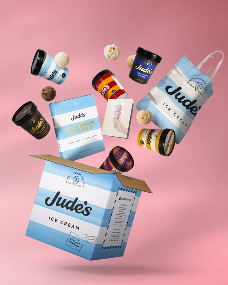 SAVE 10% on a Jude's ice cream gift box