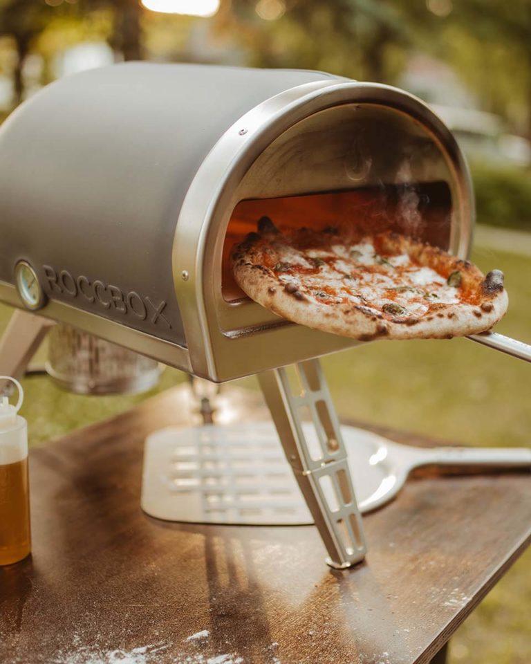 Cook it like delicious: WIN a Gozney Roccbox pizza oven