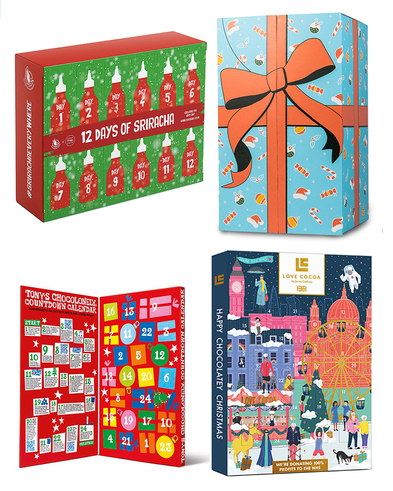 The best food and drink Advent calendars for Christmas 2021