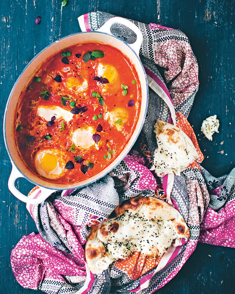 Whole egg curry